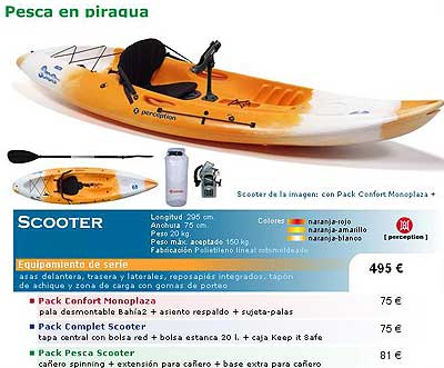 Kayak decathlon pesca